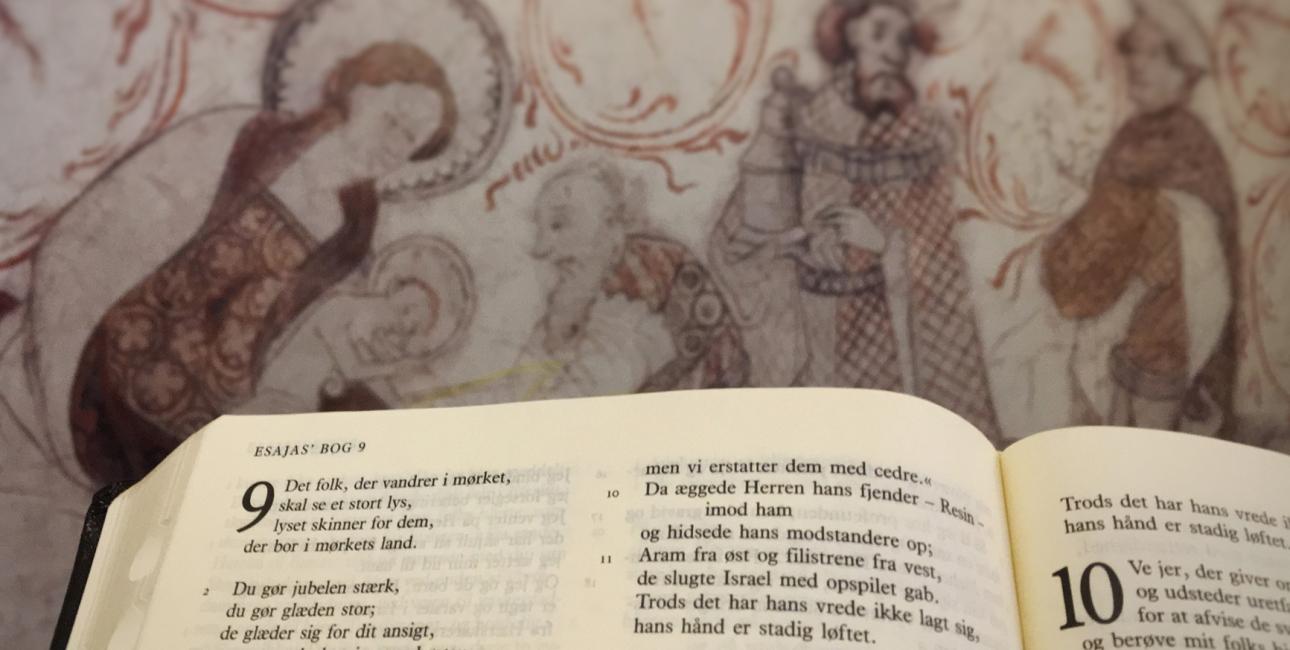 De ni læsninger. Foto: Bibelselskabet.