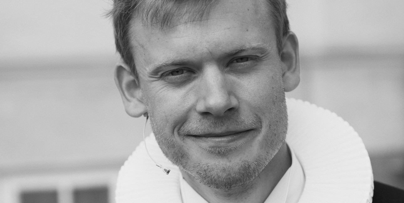 Lars Gustav Lindhardt. Pressefoto.