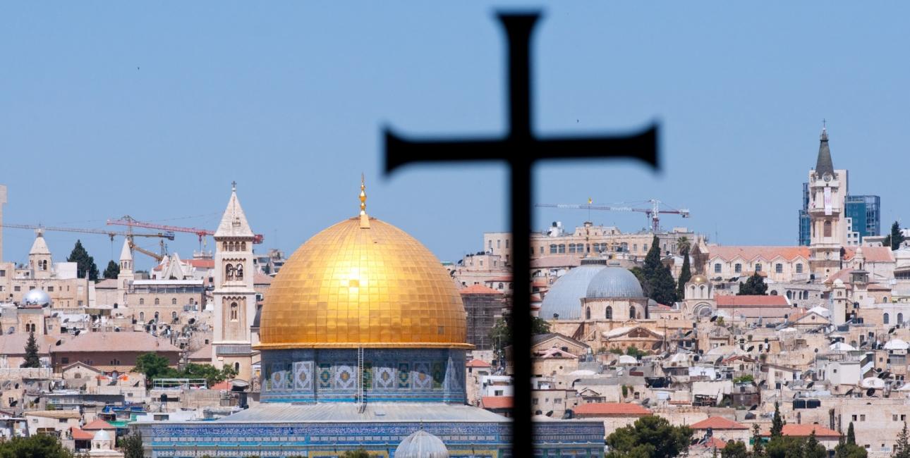 Turen går til Jerusalem. Foto: iStock.