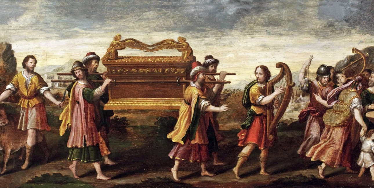 Pagtens ark. Tysk maleri ca. 1600. Kilde: Wikimedia Commons.