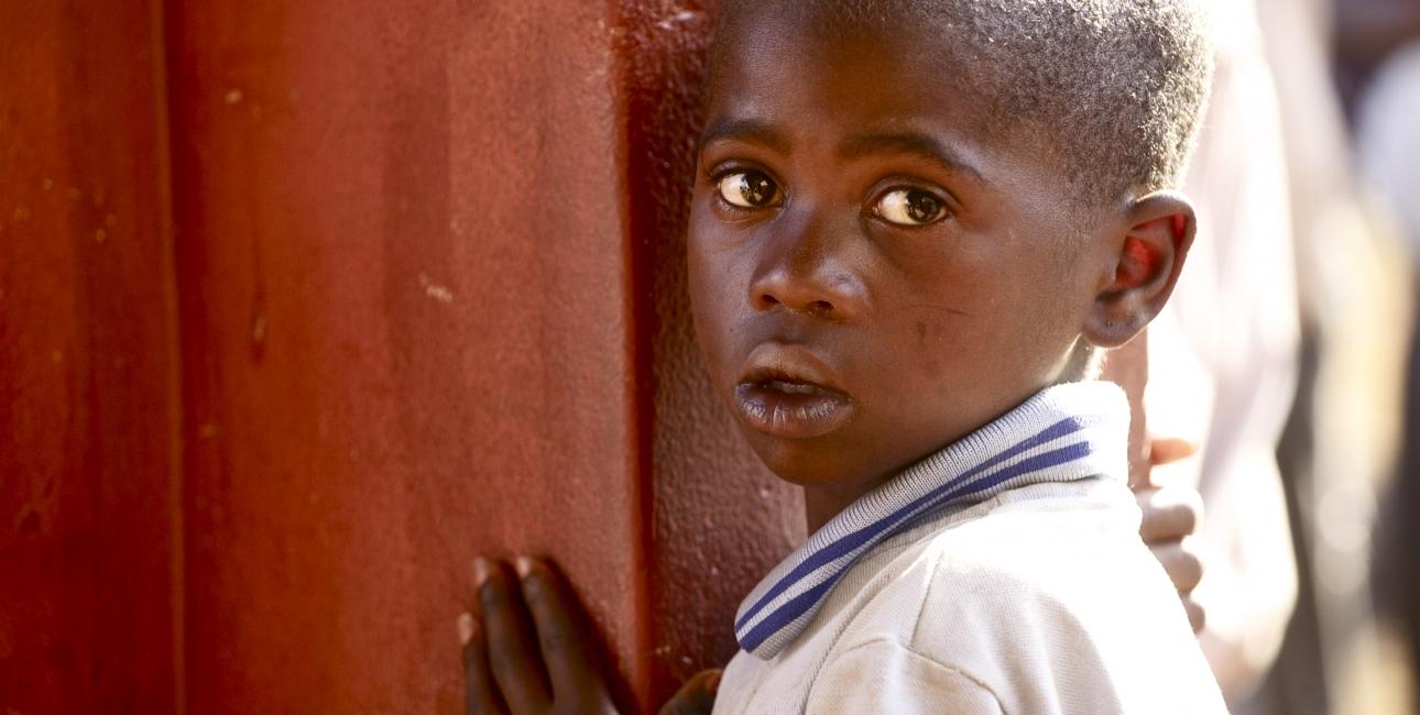 Barn, Swaziland. Foto: Adam Garff.