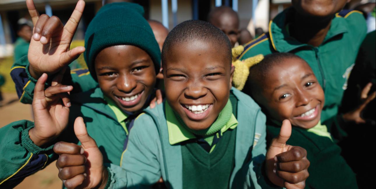 Børn i Swaziland. Foto: De Forenede Bibelselskaber