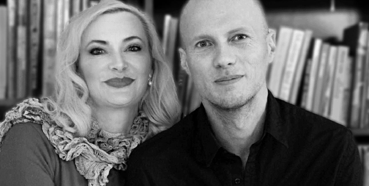 Lars Sandbeck og Rikke Vanggaard. Privatfoto.