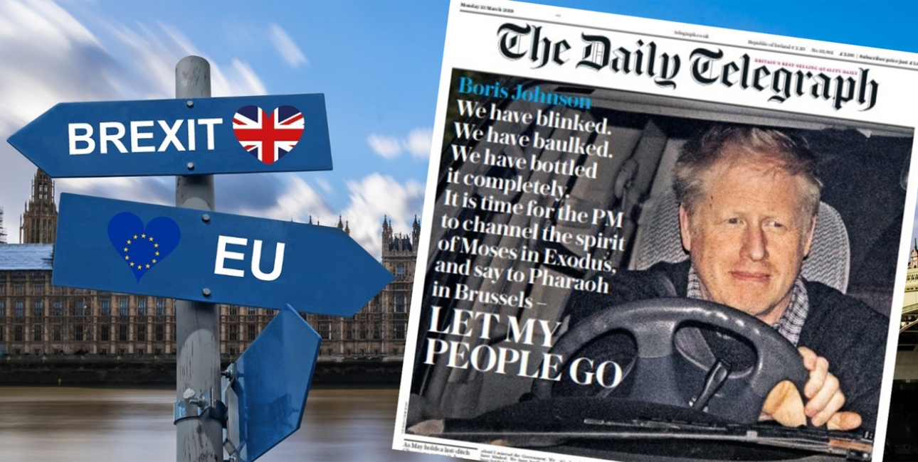 Brexit/Exodus. Foto: Pixabay/The Daily Telegraph.