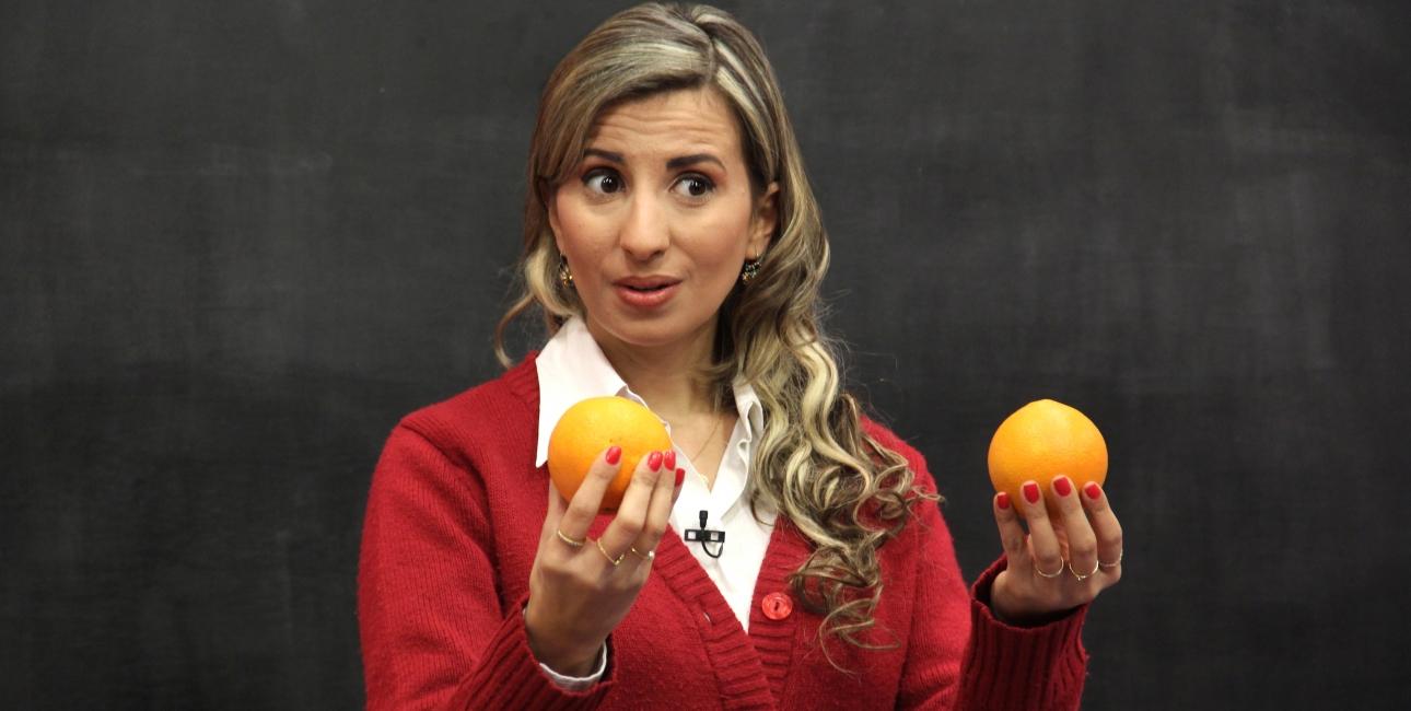 SAT-7 KIDS appelsindame. Foto: SAT-7