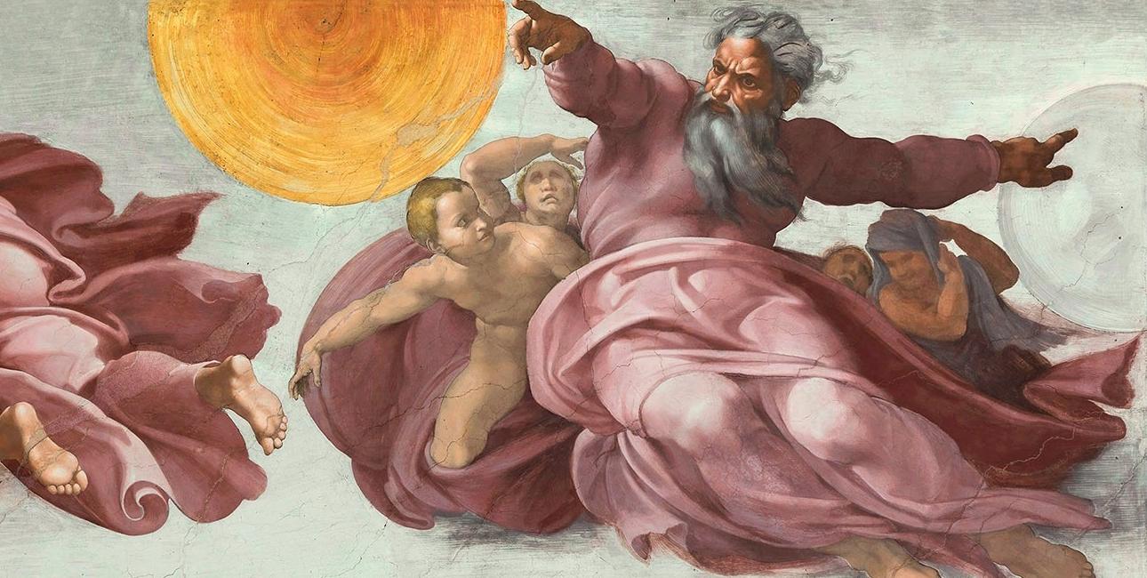 Skabelsen, Michelangelo