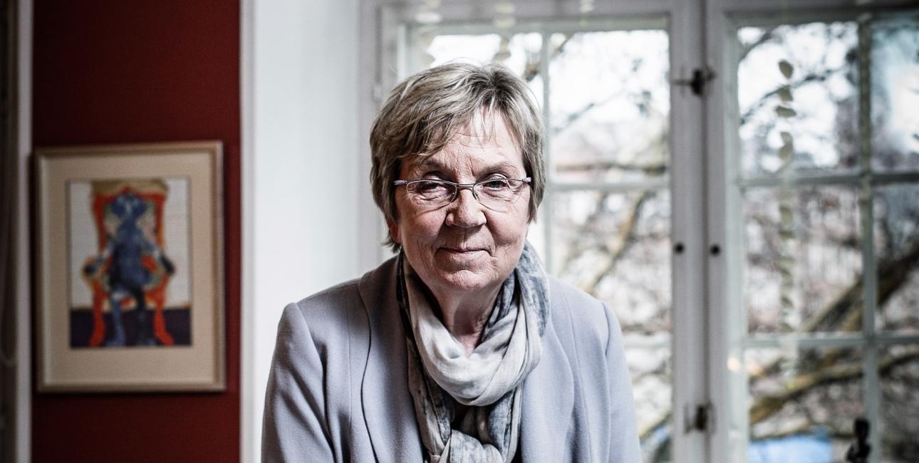 Marianne Jelved. Foto: Claus Bjørn.