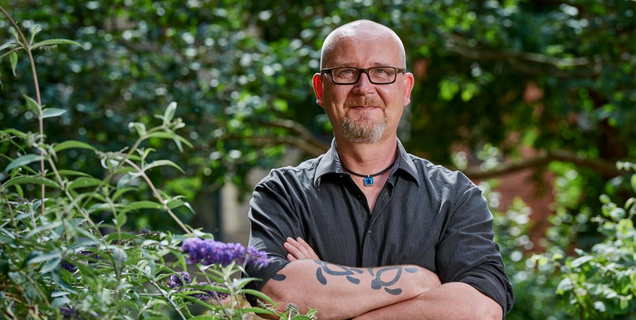 Mickey Gjerris. Foto: Carsten Lundager.