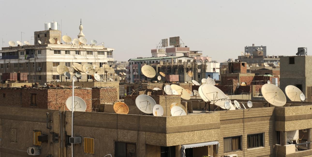 Paraboler i Egypten. Foto: Dag Smemo/ De Forenede Bibelselskaber
