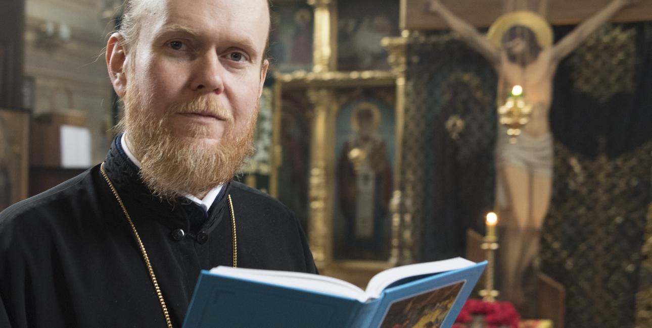 Ærkebiskop Yevstratiy. Foto: Dag Smemo
