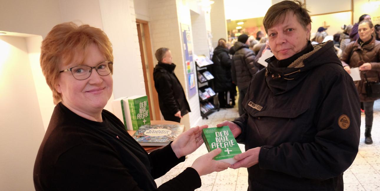 Frelsens Hær uddeling. Foto: Rune Hansen