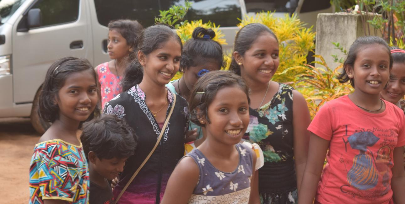Sorggruppe i Sri Lanka. Foto: UBS