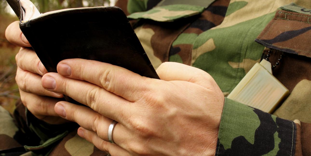 Soldat, Det Nye Testamente. Foto: Shutterstock.