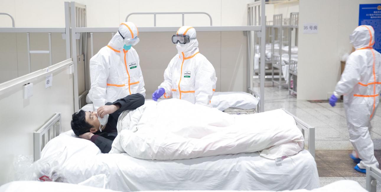 Coronavirus-angreb i Kina. Foto: Scanpix