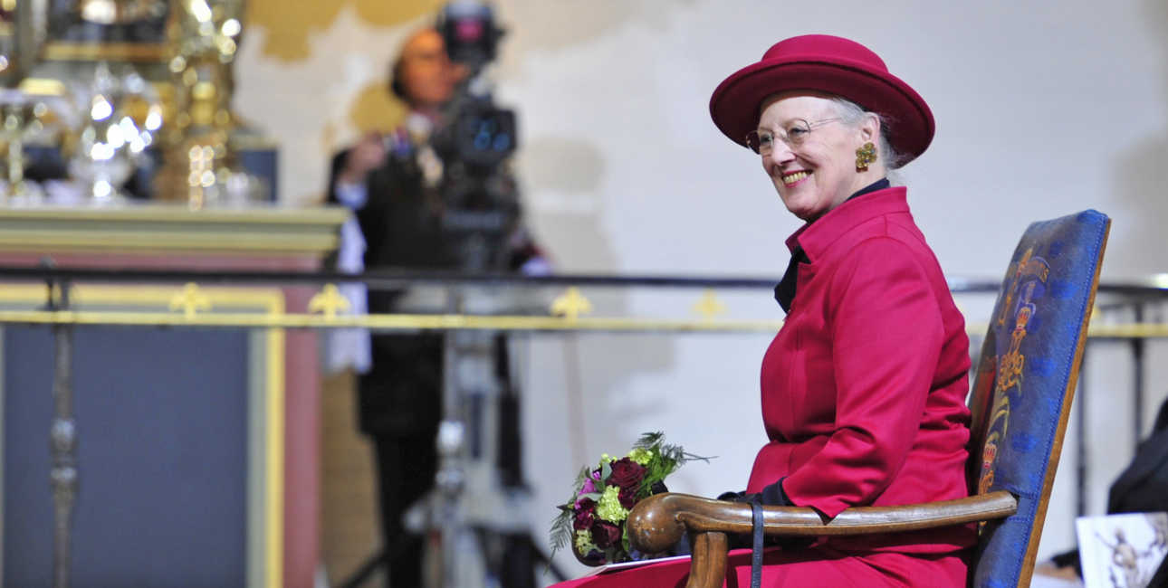 Dronning Margrethe. Foto: Casper Tybjerg.