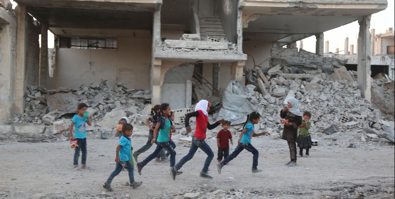 Løbende børn, Mellemøsten.