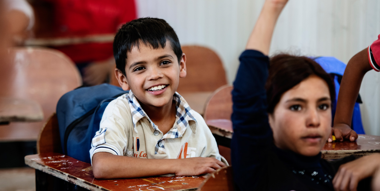 SAT-7, skolebørn, Libanon