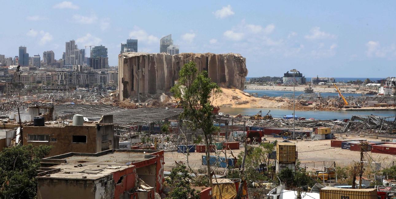 Libanon, eksplosion