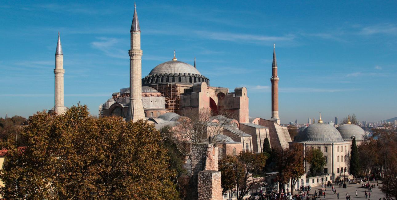 Hagia Sophia. Foto: Niek Verlaan, Pixabay