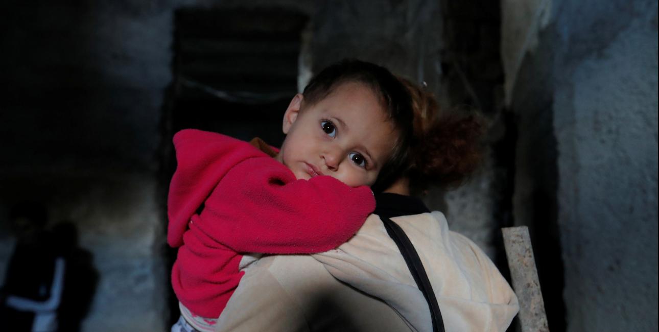 Barn i Nagorno-Karabakh