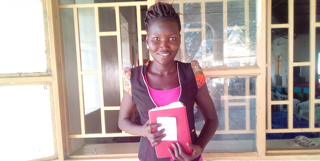 Monica Jokino, Sydsudan. Foto: De Forenede Bibelselskaber