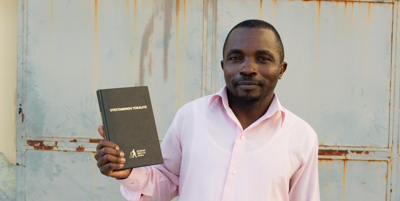 Benevides Custodio Abraao fra Angola. Foto: Andrea Rhodes, UBS
