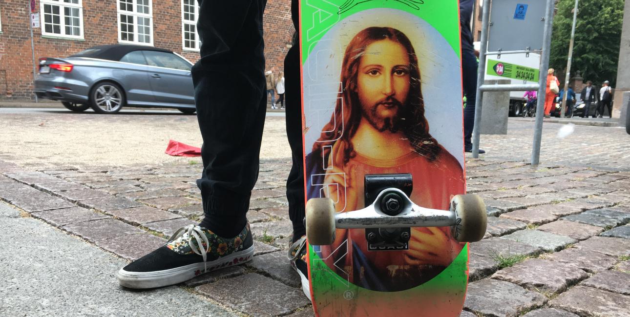 Jesus - skateboard