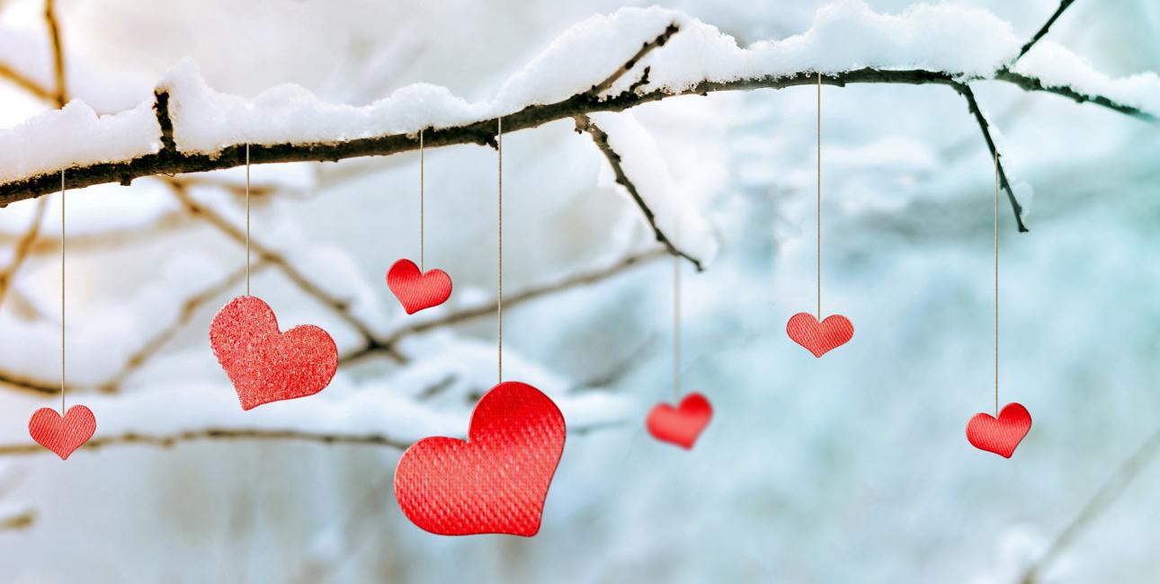 Hjerter - vinter. Foto: Shutterstock.