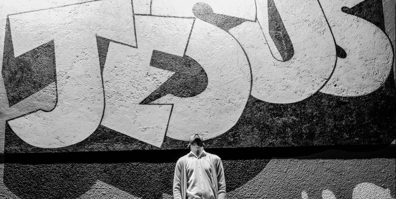 Jesus, graffiti. Foto: Unsplash.