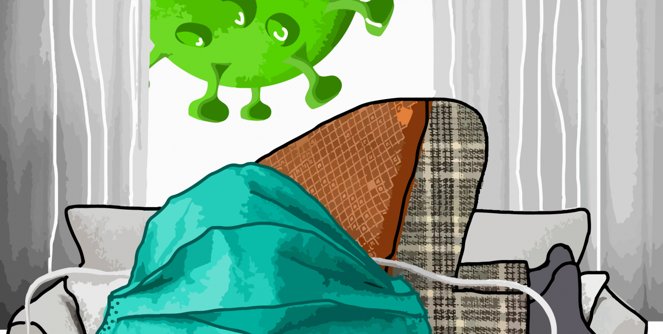 Coronapandemi - Nu skal jeg jo ikke klage: Grafik: Maj Ribergaard
