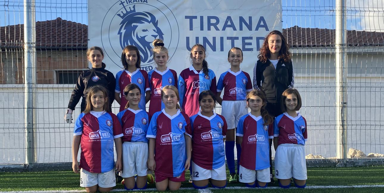 Tirana United, fodboldhold Albanien_høj opløsning. Foto: UBS