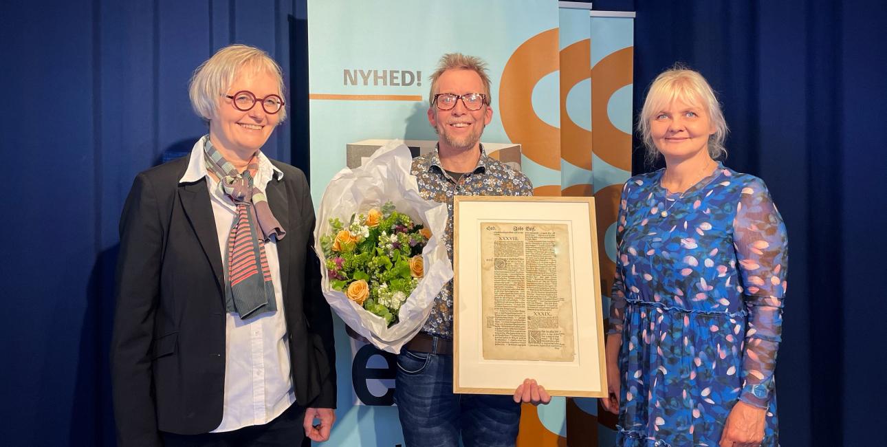 Søren Holst - Bibelselskabets Pris