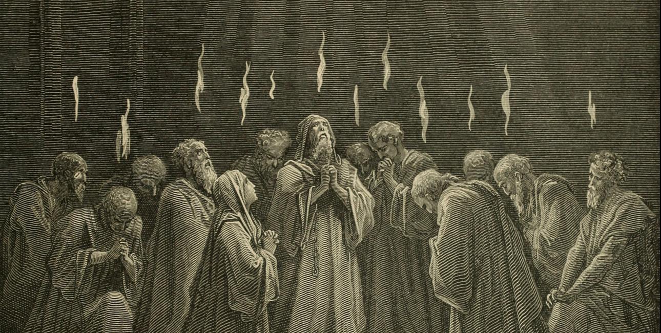 Pinse. Illustration af Gustave Doré.