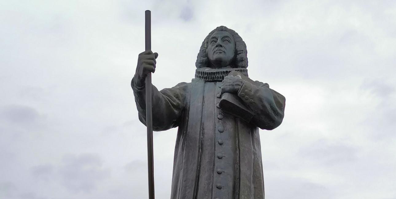 Statue af Hans Egede, Nuuk. Foto: Shutterstock.