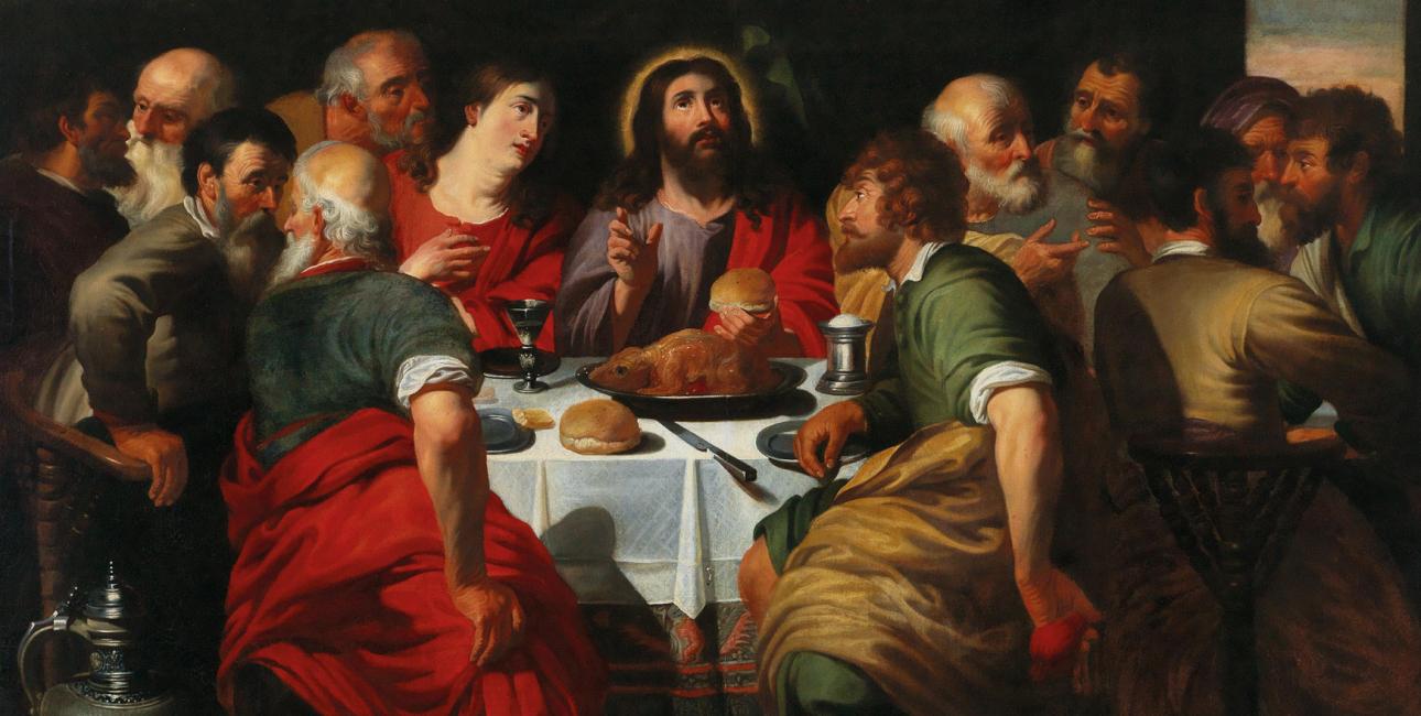 Den sidste nadver. Maleri af Artus Wolffort, ca. 1630. Kilde: Wikimedia Commons.