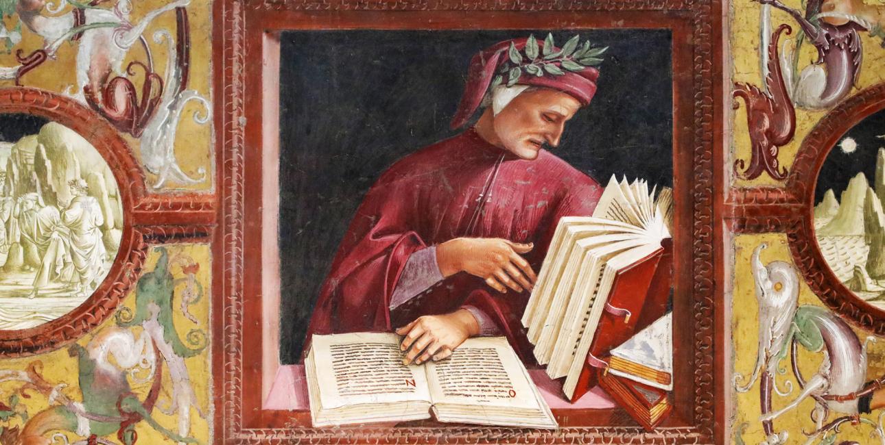 Dante. Luca Signorellis fresco fra Orvieto Katedralen, ca. 1520. Kilde: Shutterstock.