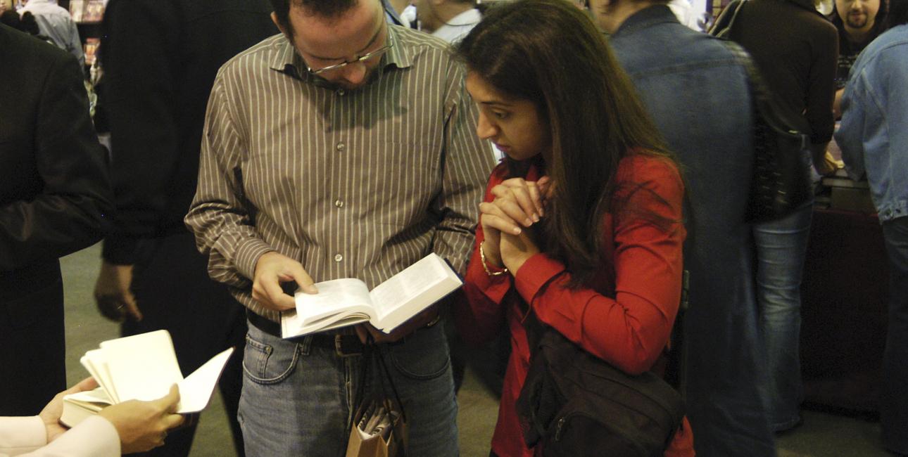 En bibelbutik i Mellemøsten. Foto: Dag Kjær Smemo