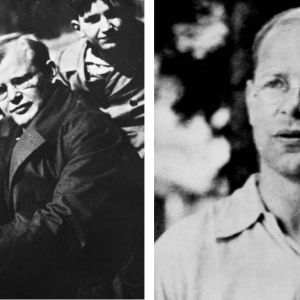 Dietrich Bonhoeffer collage.