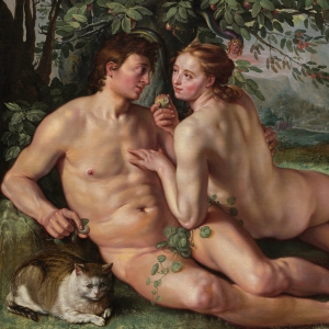 The Fall of Man - Hendrik Goltzius