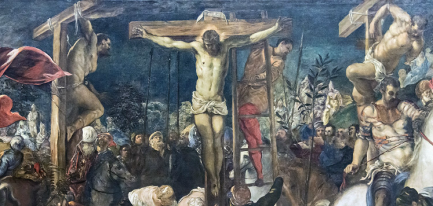"""Crucifixion"" af Tintoretto"