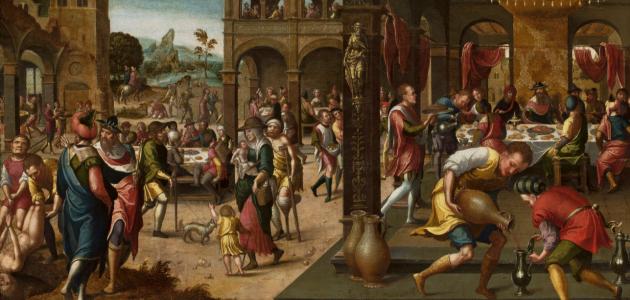 """""""Great Banquet"""" af Brunswick Monogrammist"""