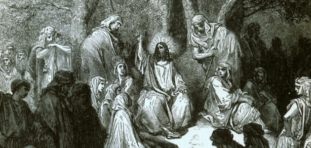 """Sermon on the Mount"" af Gustave Doré"
