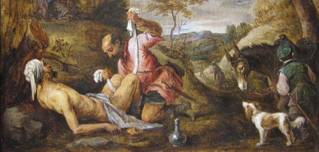 The Good Samaritan - David Teniers the Younger