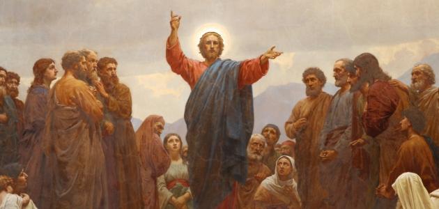 'Bjergprædikenen' fra Sankt Matthæuskirken i København