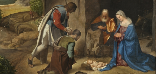 Adoration of the Shepherds - Giorgione