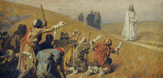 Christus und die Aussätzigen - Gebhard Fugel