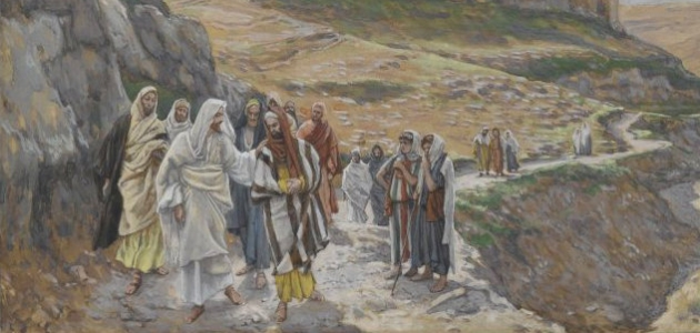 """Jesus Discourses with His Disciples"" - James Tissot"