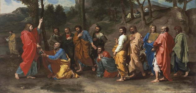 'Ordination' - Nicolas Poussin