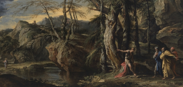 Saint John the Baptist Revealing Christ to the Disciples - Salvator Rosa