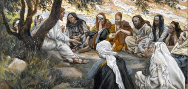 The Exhortation to the Apostles - James Tissot